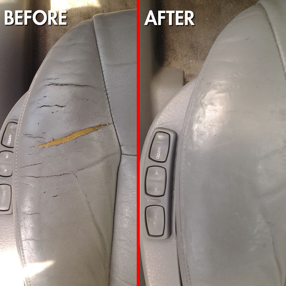 Car Auto Leather Vinyl Upholstery Repair Fort Myers Florida